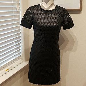 Diane VonFurstenberg cap sleeve party dress